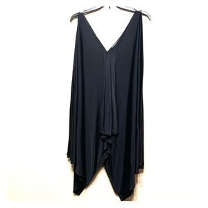 5 for $25 Joise Natori swim suit cover up black